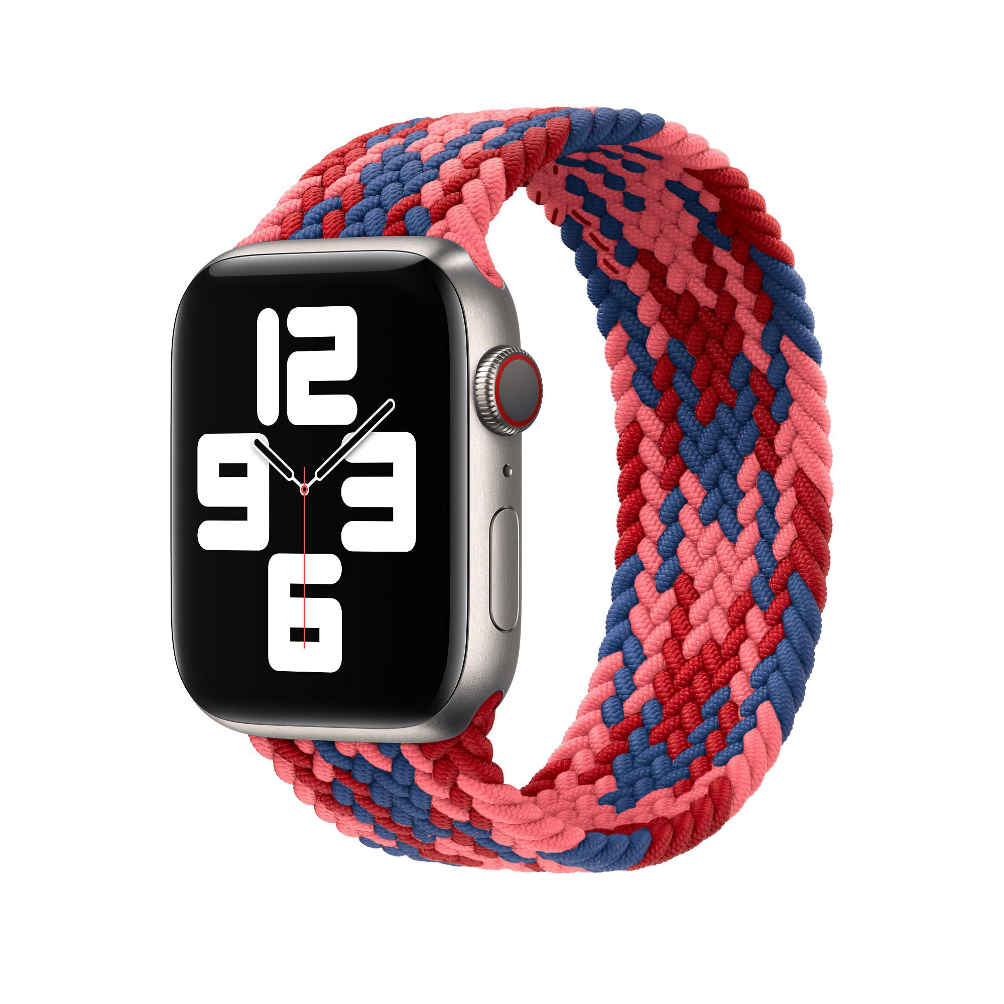 WiWU Braided Stretchy Solo Loop Band Compatible with Apple Watch Sport Straps Nylon Woven Elastic Watch Bands