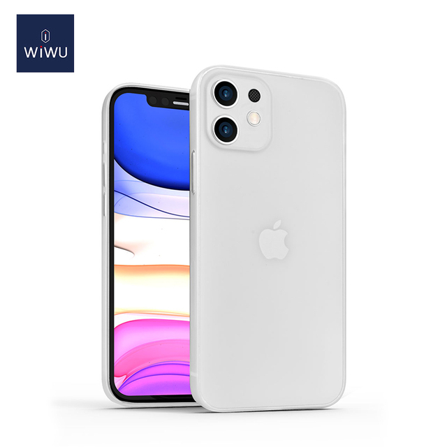 WiWU Skin Nano Ultra Slim Mobile iPhone Protective Case Cover in Transparent