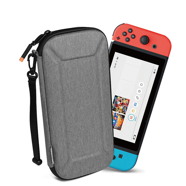WiWU Defender Slim Case Nintendo Switch EVA Hard Shell Video Game Accessories Case Lite Travel Bag